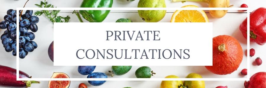 Perth Nutritionist Private Consultations