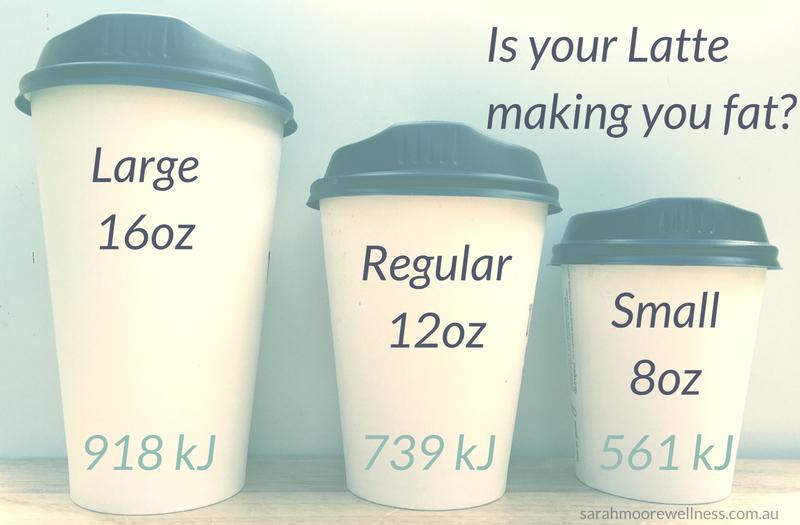 coffee calories latte