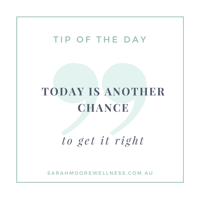 Sarah Moore Registered Nutritionist tip of the day 3
