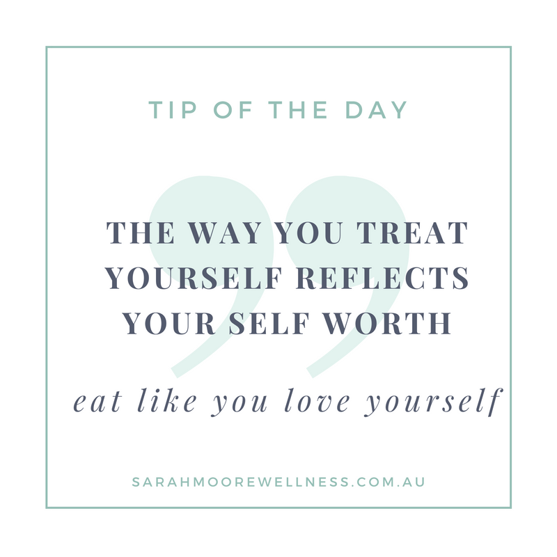 Sarah Moore Registered Nutritionist tip of the day 4