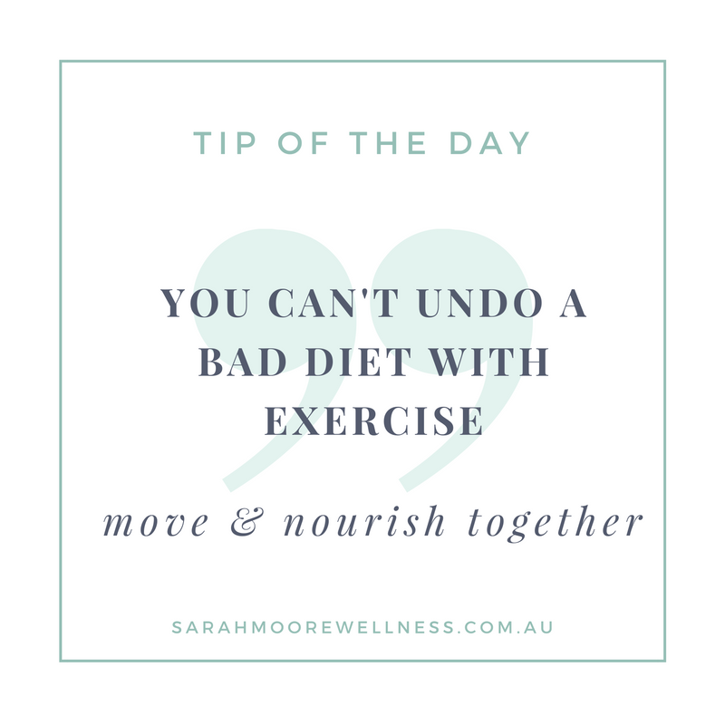 Sarah Moore Registered Nutritionist tip of the day 5