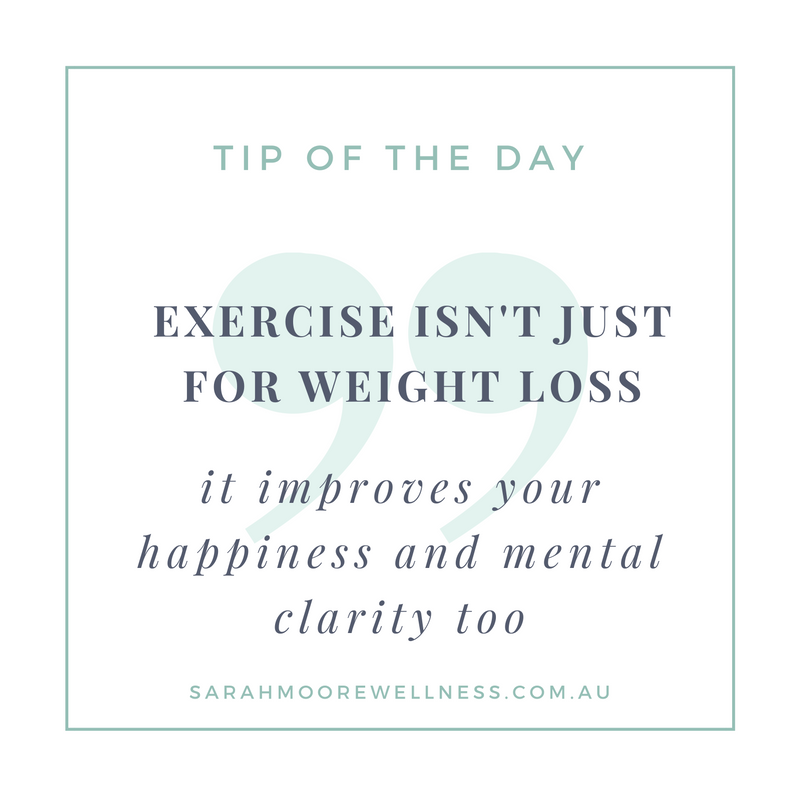 Sarah Moore Registered Nutritionist tip of the day 7