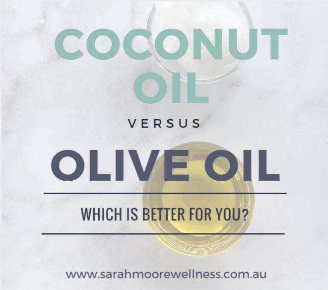 Coconut Oil vs Olive Oil Image