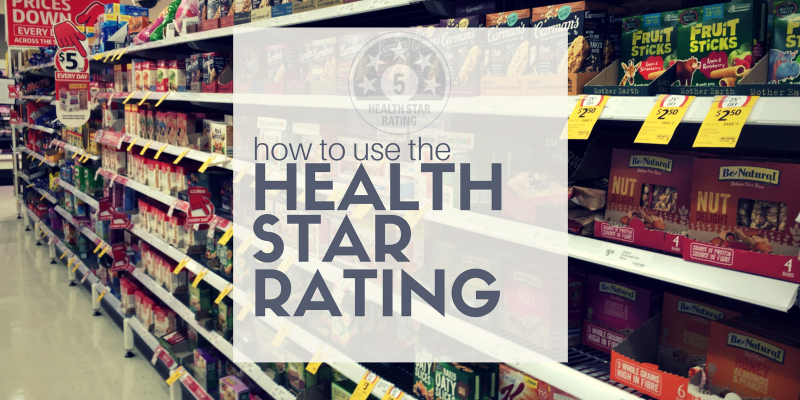 Perth Nutritionist Health Star Rating How to