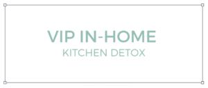 Perth Nutritionist Services Kitchen Detox