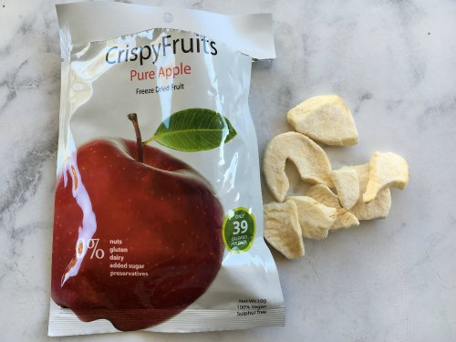 Apple Chips Kids Snack On the Go