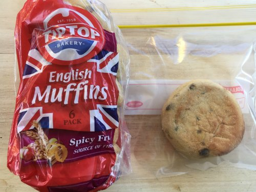 Fruit Muffin Kids Snack On the Go
