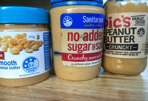 Perth Nutritionist Peanut Butter Health Star Rating
