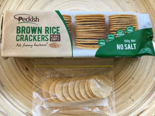 Rice Crackers Kids Snack On the Go