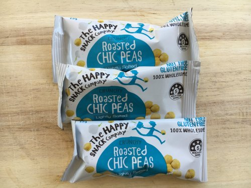 Perth Nutritionist Roasted Chickpeas Snack