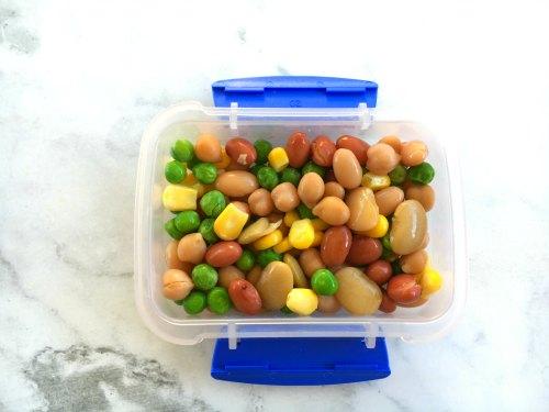 Peas Corn and Beans Kids Snacks