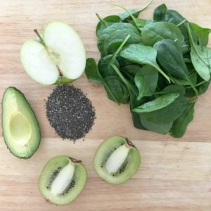 Healthy green smoothie recipe