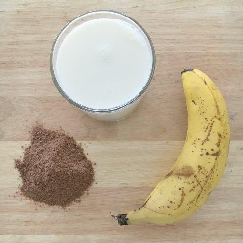 Banana Milo Icy Pole Healthy Ice Pop Ice Lolly
