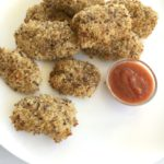 Perth Nutritionist Healthy Chicken Nugget Recipe Vegetables with Sauce