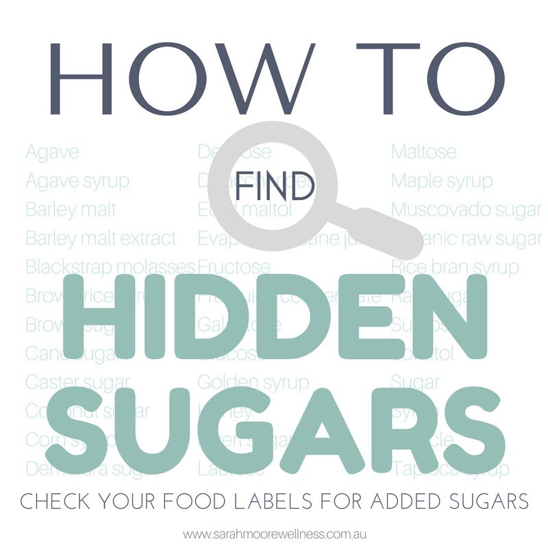 How to Find Hidden Sugars added sugar free sugar
