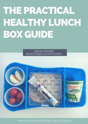 The Practical Healthy Lunch Box Guide Cover