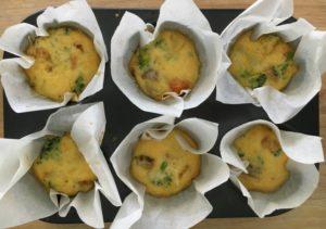 Lunchbox sized Frittata