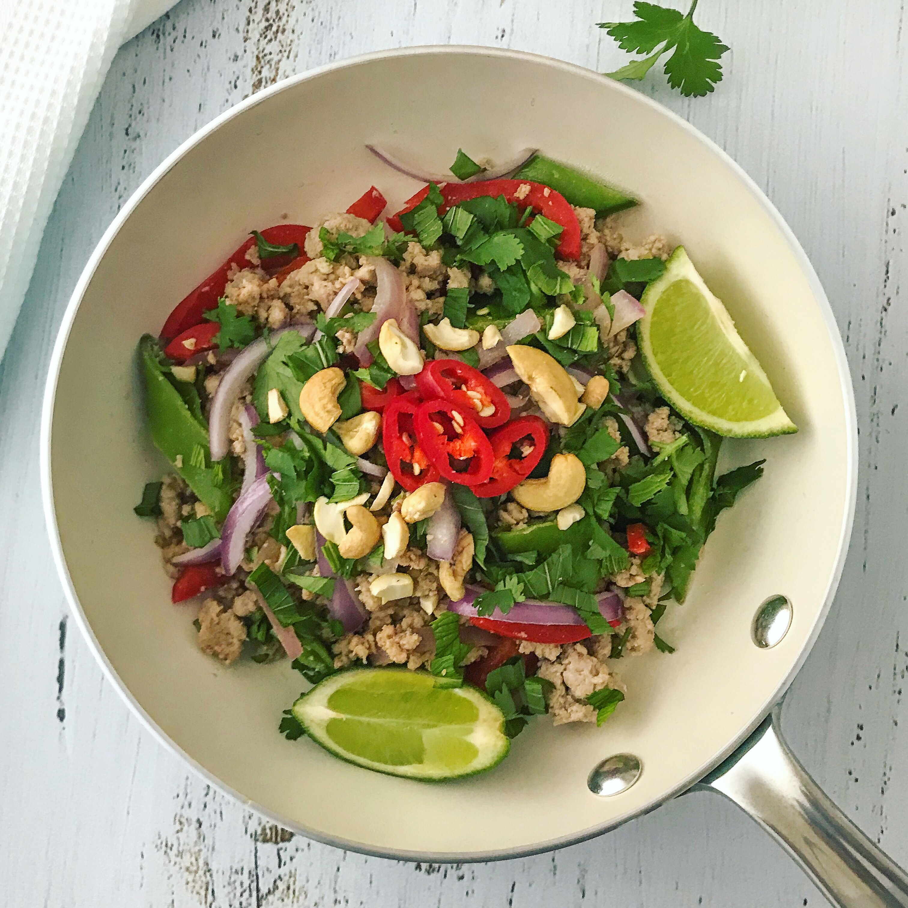 Thai Larb with Turkey