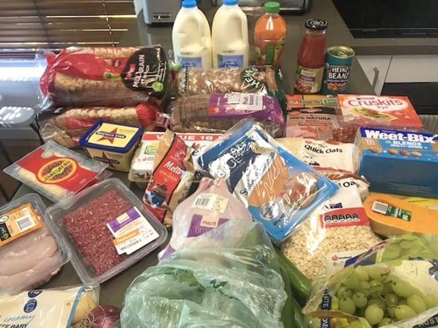What a dietitian buys for a family of 3