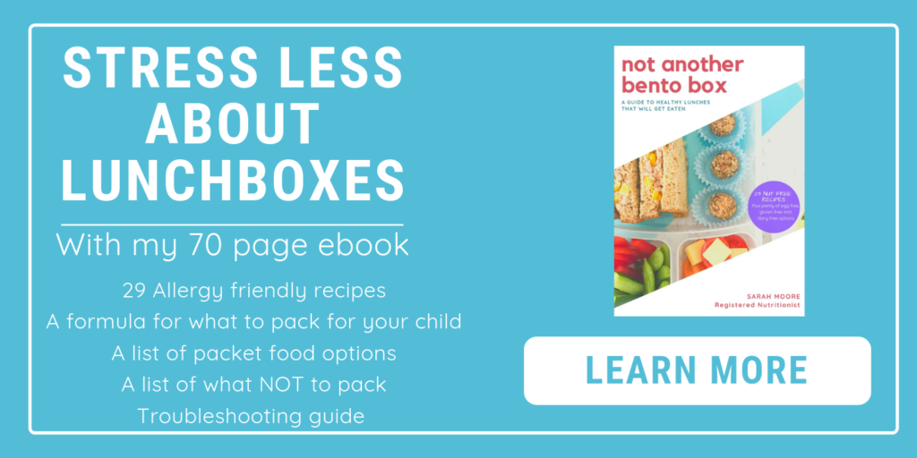 Healthy School Lunchbox Ebook