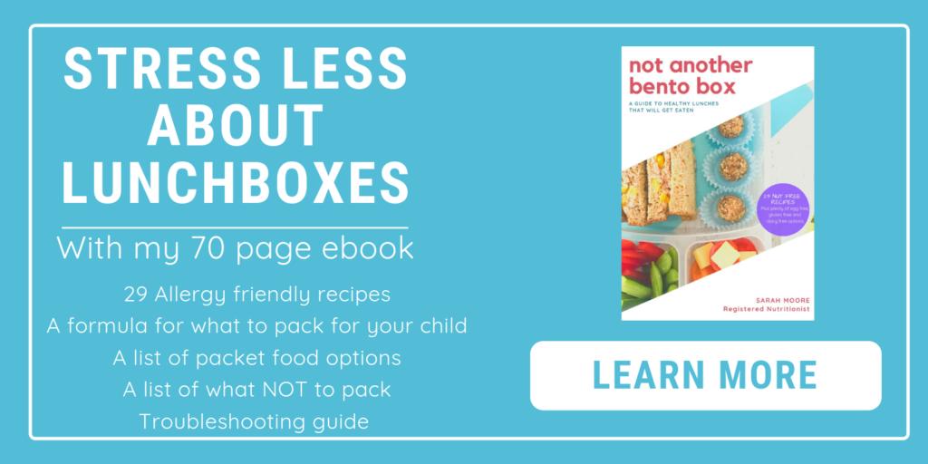 Healthy School Lunchbox Ebook