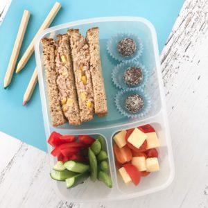 Nut free school lunchbox