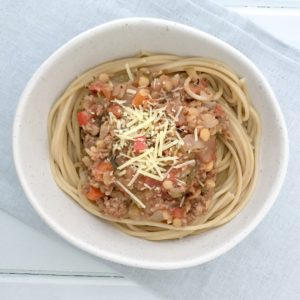 loaded bolognaise