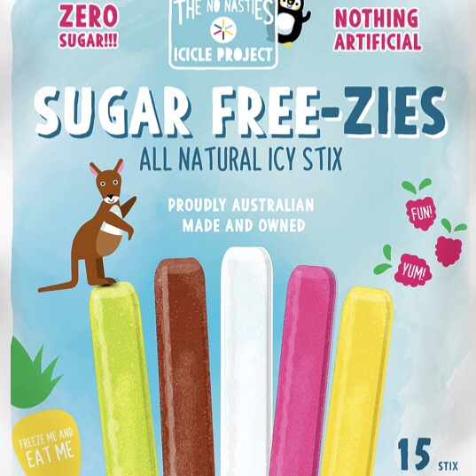 Sugar Freezies Icy Pole