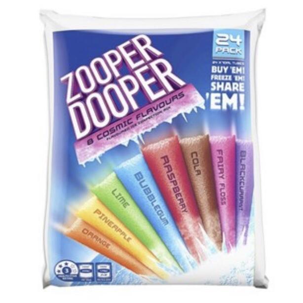 Zooper Dooper Icy Pole