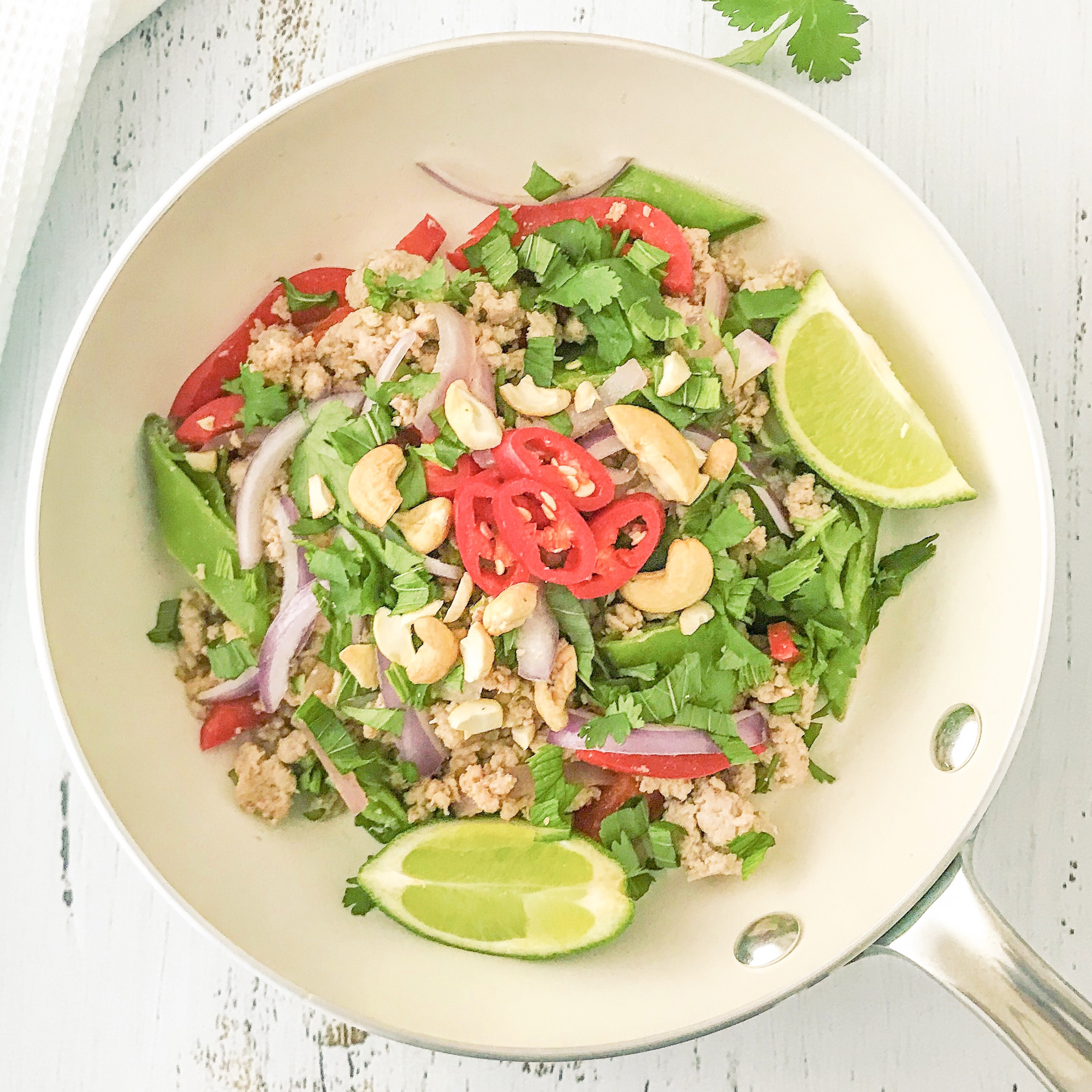 Thai Larb with Turkey Mince | Sarah Moore Wellness