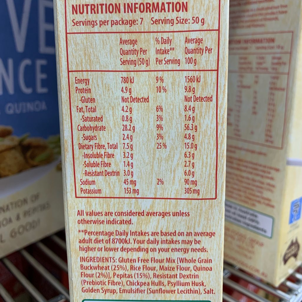 Freedom Foods Active Balance Nutrition