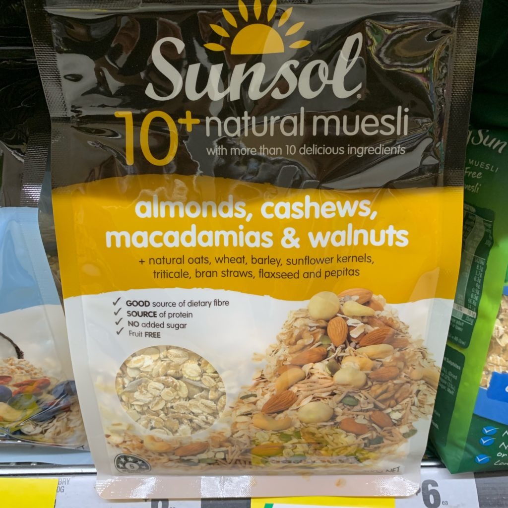SunSol Natural Muesli