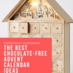 chocolate free advent calendar ideas