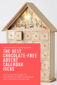 chocolate free advent calendar ideas