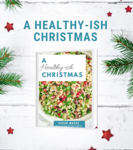 A Healthy -ish Christmas Recipe ebook Cover